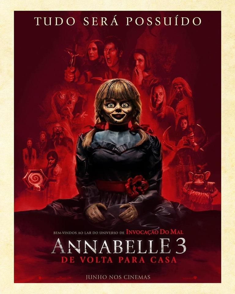 Annabelle 3 : De Volta Para Casa